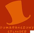 pomarańczowy cylinder